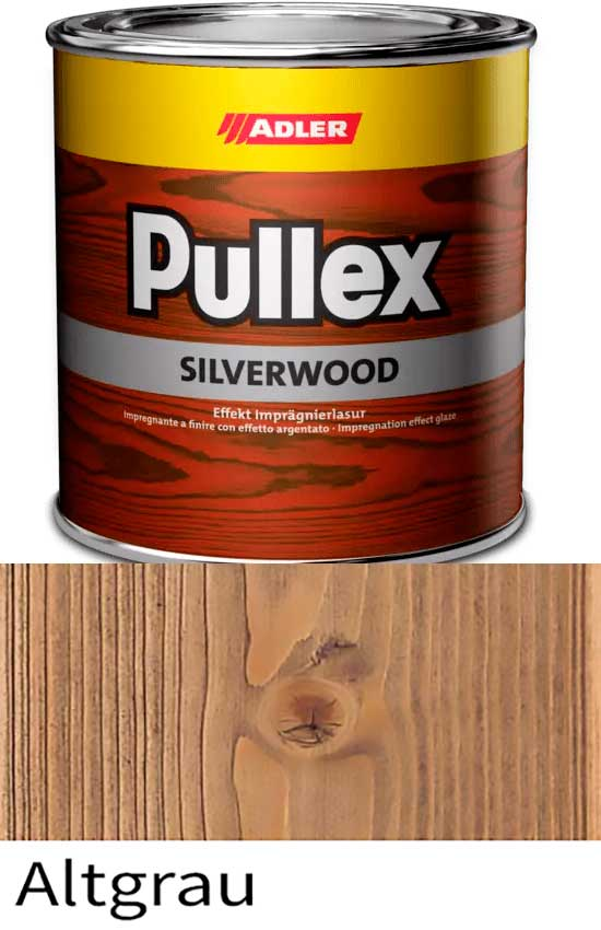 Пропитка для дерева ADLER Pullex Silverwood цвет Altgrau