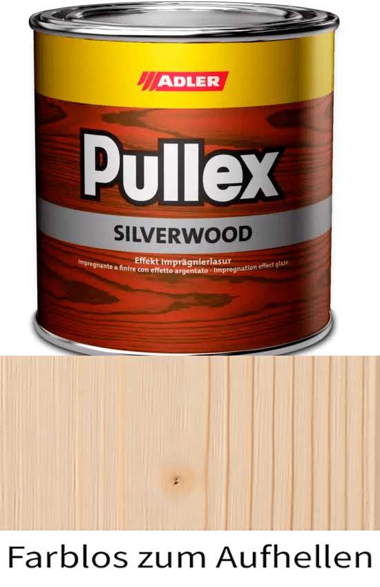 Пропитка для дерева ADLER Pullex Silverwood Farblos